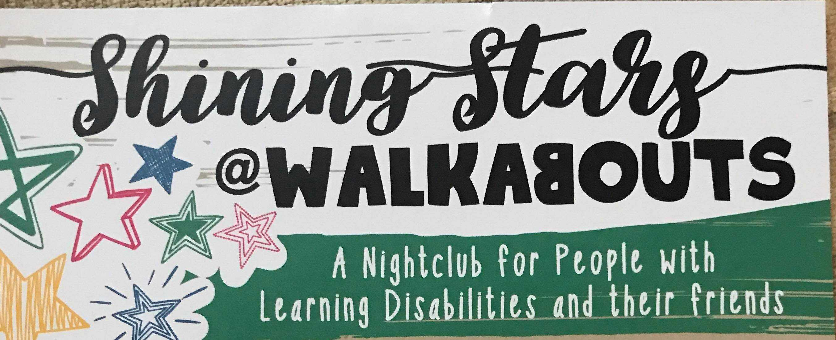 Shining stars at Walkabouts  company logo