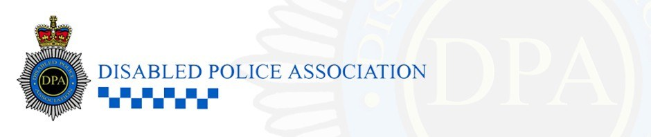 Disabled Police Association company logo